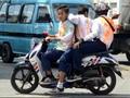 Taktik Usang Polisi Didik Remaja Tertib Lalu Lintas