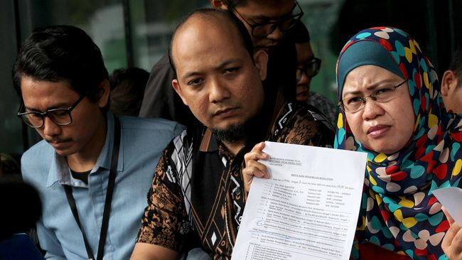 Tiba di Pengadilan, Novel Baswedan Siap 'Tarung' Lawan Polri