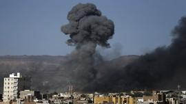 Koalisi Saudi Serang Bandara Yaman yang Jadi Basis Houthi
