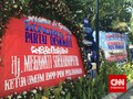 SBY Sah Ketum, Karangan Bunga dari Megawati Hiasi Kongres