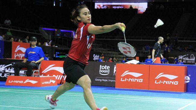 Bellaetrix Bawa Indonesia Unggul 2-0 Atas Denmark