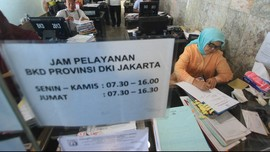 Sebanyak 21 PNS Korup DKI Masih Terima Setengah Gaji