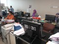 PNS Pemprov DKI yang Bolos Dihukum Bersih-Bersih di Kantor