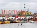 Warga Seattle Memprotes Eksplorasi Minyak di Antartika