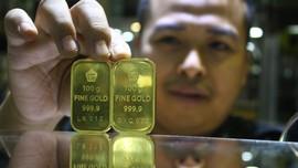 Harga Emas Koreksi Tipis Jelang Pengumuman The Fed
