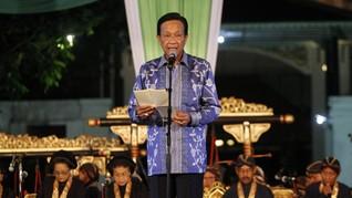 Sultan HB X Minta Jokowi Berikan Data Zona Merah Corona
