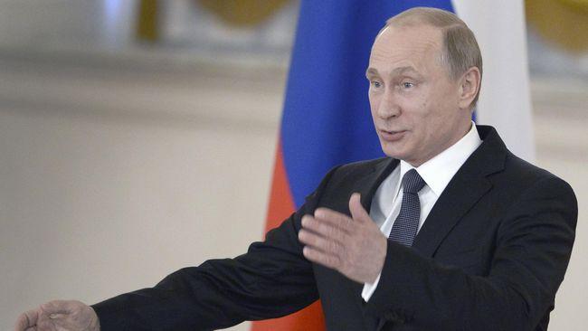 Putin Mengaku Dukung Assad dan Kelompok Pemberontak Suriah