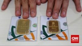 Didominasi Emas, Omzet Antam Naik 38 Persen pada 2017