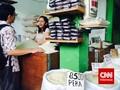Tiga Menteri Jokowi Sidak Harga Beras ke Pasar Cibinong
