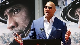 Dwayne 'The Rock' Johnson 100 Persen Ingin Maju Capres AS