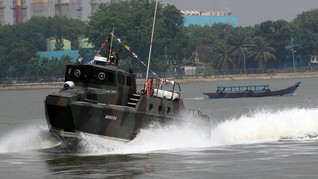 Kapal Komando TNI Tenggelam di Pulau Seribu Akibat Pipa Bocor