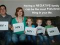 Ayah HIV Positif Mengunggah Foto Keluarga dengan HIV Negatif