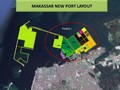 Menteri Rini Yakin Makassar New Port Rampung Oktober 2018