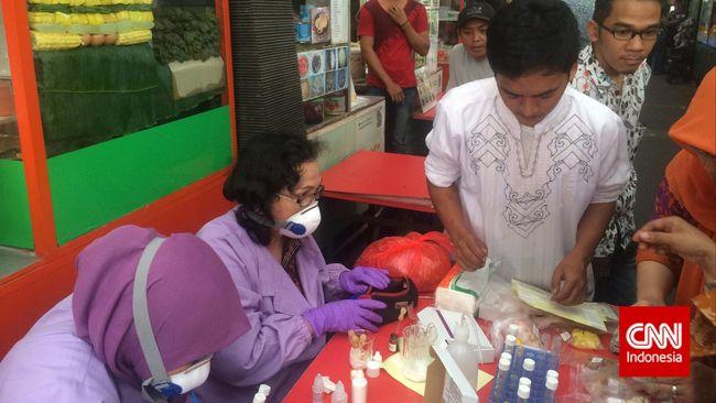 BPOM Temukan Ketupat Mengandung Boraks di Kuliner Sabang