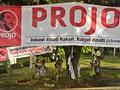 Jokowi Beri Arahan kepada Relawan Projo Secara Tertutup
