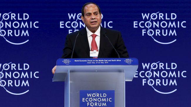 Presiden Mesir Kecam Polisi dan Kritik Pemerintahnya