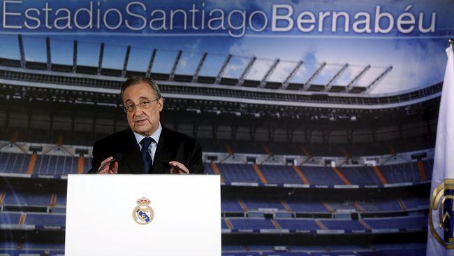 Fan Tuntut Presiden Real Madrid Mundur