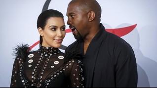 Kanye West Beri Kado Natal Kim Kardashian Saham Rp3,6 M