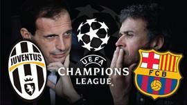 Membedah Kekuatan Barca dan Juventus di Kompetisi Eropa