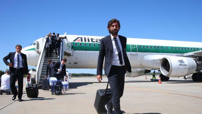 Menjadi Pandit, Pirlo Batal Bergabung dengan Timnas Italia