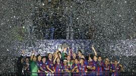 Barcelona Bisa Pesta Juara Liga Spanyol di Akhir Pekan