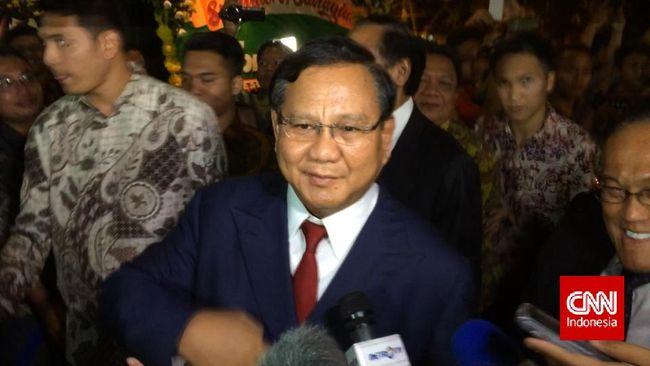 Prabowo Subianto ke Jokowi: Pak Apa Tidak Capek?