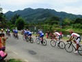 Etape I Tour de Singkarak: Peserta Dimanja Trek Landai