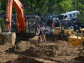 Sebagian Jalan Trans Sulawesi Putus Akibat Longsor