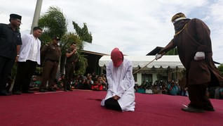 Kasus Zina, Jaksa Izinkan Wanita Aceh Cicil Hukuman Cambuk