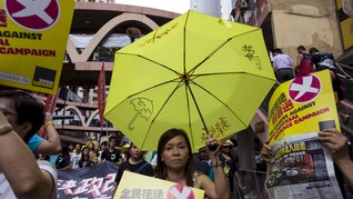 Hong Kong Larang Partai Pendukung Pemisahan Diri dari China