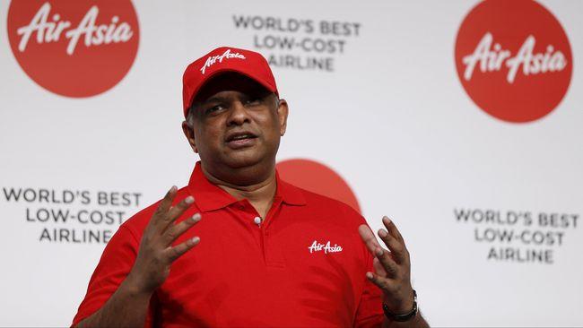 Tony Fernandes soal Tiket Pesawat: Regulasi Membunuh Bisnis