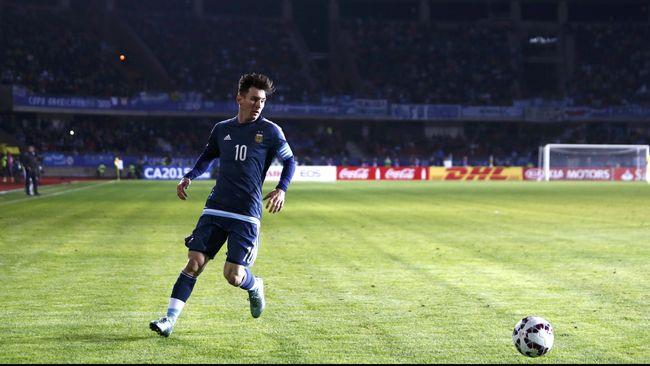 100 Pertandingan Messi untuk Argentina