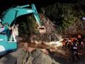 Dua Orang Diduga Masih Tertimbun Tebing Batu Gunungkidul