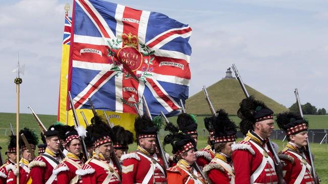 Baik Napoleon dan Wellington memiliki reputasi militer yang cukup mumpuni. Kedua pria yang sama-sama berusia 46 tahun ini mempertaruhkan harga diri merekadalam pertempuran di Waterloo. (Reuters/Yves Herman)