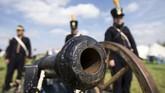 Duke Wellington membawa 68 ribu pasukan, terdiri dari 25 ribu pasukan Inggris, 26 ribu pasukan Jerman, 17 ribu pasukan Belanda-Belgia, untuk merangsek masuk ke Waterloo.(Reuters/Yves Herman)