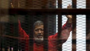 Mesir Vonis 3 Tahun Penjara Eks Presiden Mursi
