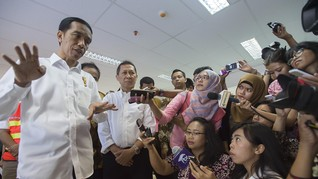 Bos Pelindo II Kritik Jokowi Soal Kereta Trans Kalimantan