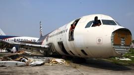 Bangkai Pesawat Indonesia Jadi Restoran di China