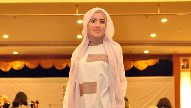 Koleksi Terbaru Busana Muslim Formal Ala Zaskia Adya Mecca