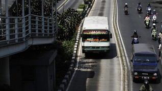 Bappenas Sebut Transportasi Massal Jakarta Masih Tertinggal