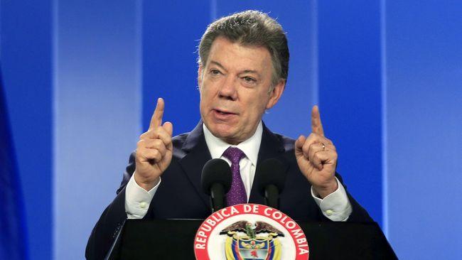 Wujudkan Perdamaian Kolombia, Presiden Santos Diganjar Nobel