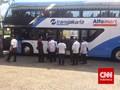 Ahok Terima Sumbangan Bus Tingkat Pariwisata