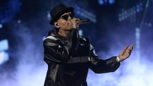 Chris Brown Ditangkap Polisi usai Konser di Florida