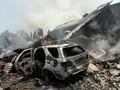 Pesawat Kargo Mendarat Darurat di Ukraina, Lima Orang Tewas