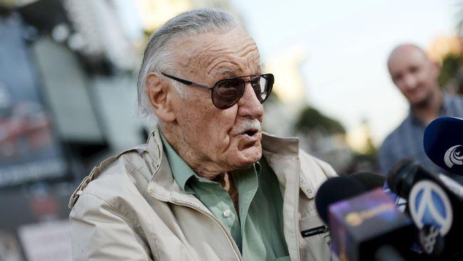 Stan Lee Gugat Bekas Perusahaannya Sendiri Rp14 Triliun