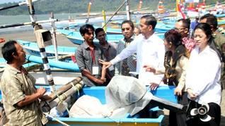 Nelayan Curhat ke Jokowi Dilarang Jual Ikan ke Luar Morotai