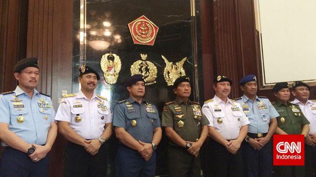 TNI Hibahkan 10 Kapal untuk Bakamla