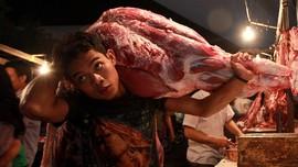 Lebaran Usai, Harga Daging di Jakarta Masih Rp100 ribu