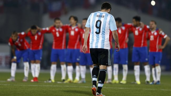 Messi Ingin Higuain Kembali ke Timnas Argentina