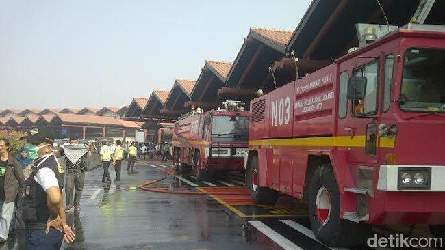 Soetta Kebakaran, Jonan Audit Penyewa Lahan Komersial Bandara